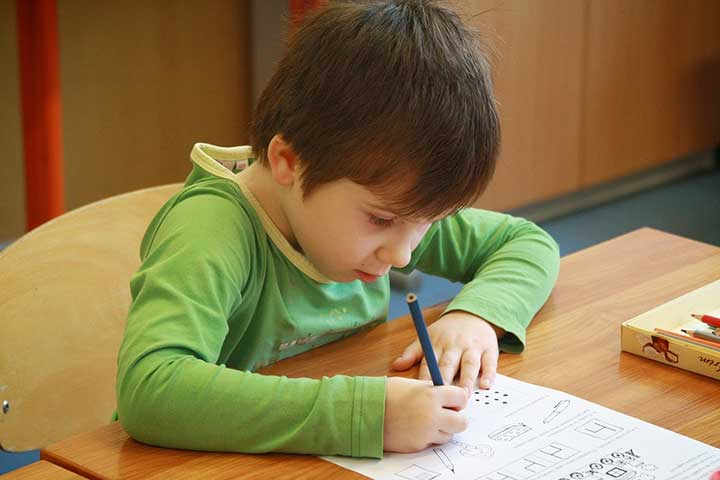Schrijfmotoriek kind